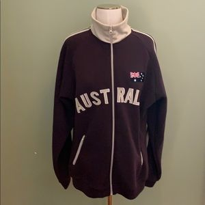 RARE/UNIQUE Australia Day zip up jacket hoodie